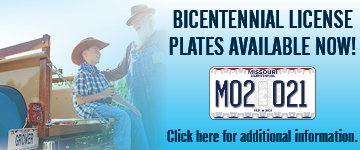 New License Plate available soon. Click Here