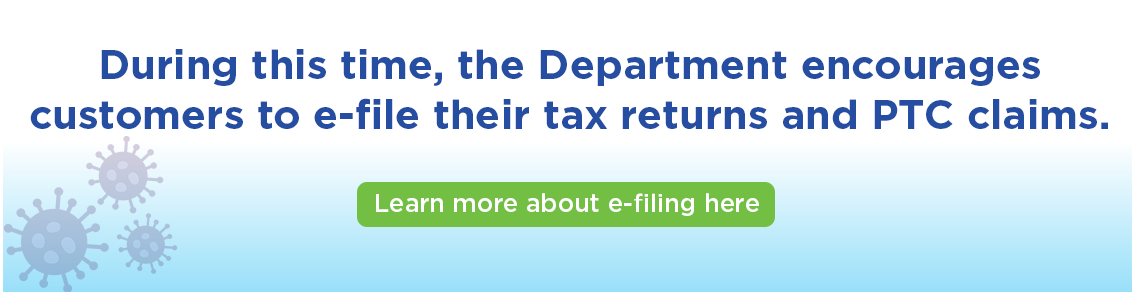 Learn more about e-filing click here