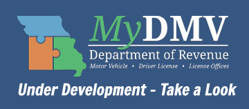 MyDMV - Under COnstruction - Take a look