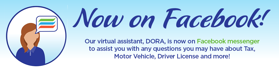 Check out our new chat assistant named DORA she can help you on Facebook Messenger now