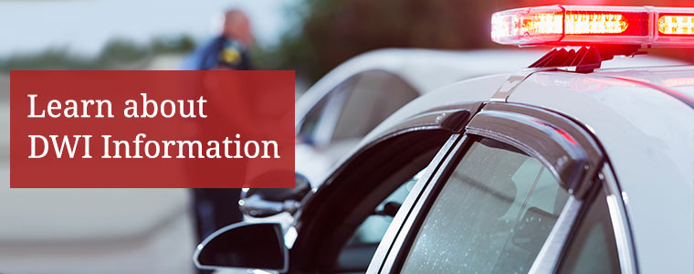 Learn about DWI Information