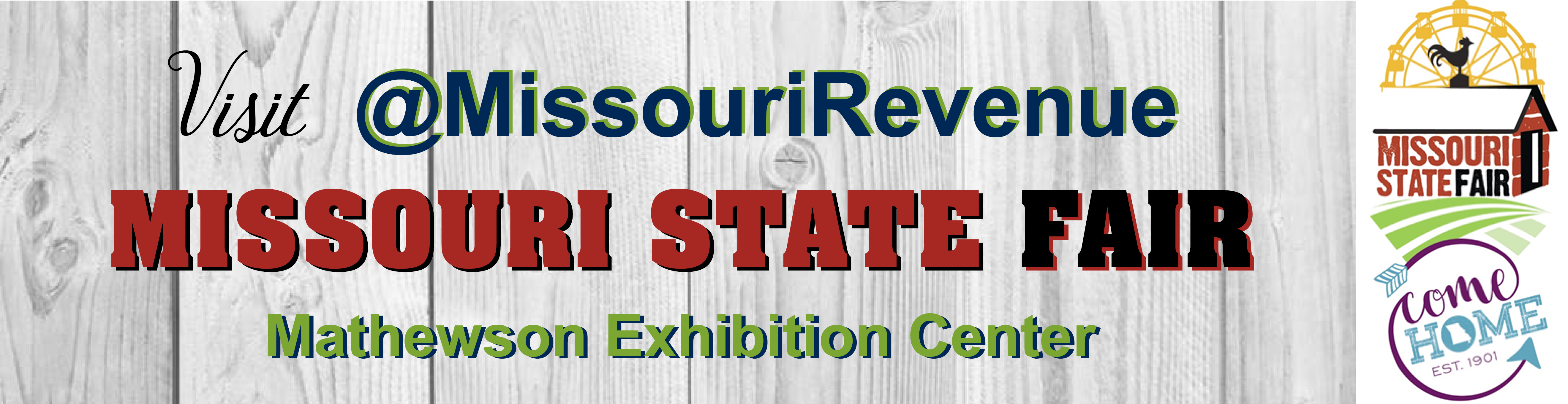 Visit @MissouriRevenue at the Missouri State Fair in the Mathewson Exhibition Center