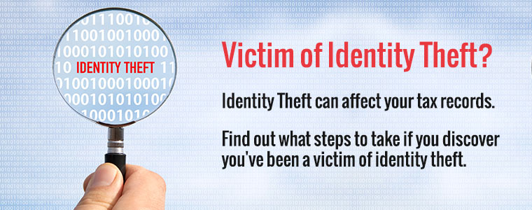 Victim of Identity Theft? Identity Thedt can affect your tax records. Find out what steps to take if you discover you've been a victim of identity theft.