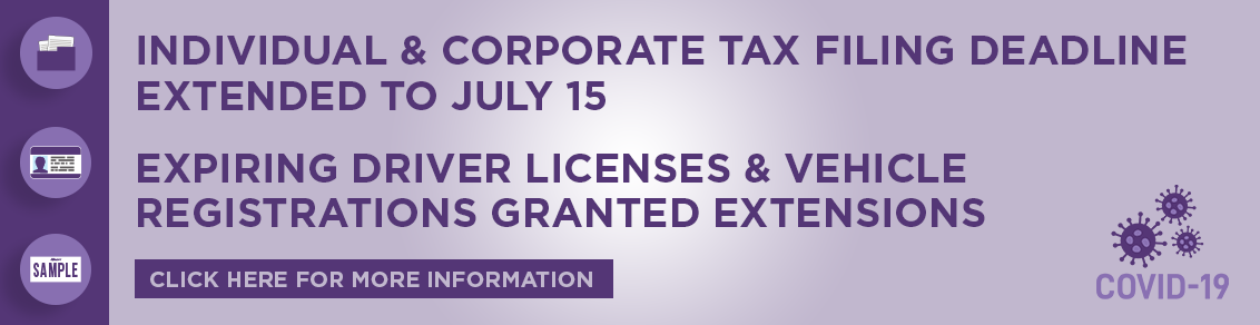 Tax Extension Deadline Information Click here