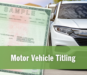 Motor Vehicle Titling Information